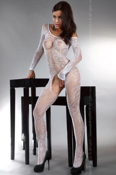 Bodystocking Livco Corsetti Abra White