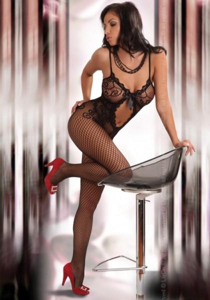 Bodystocking Livco Corsetti Magali black