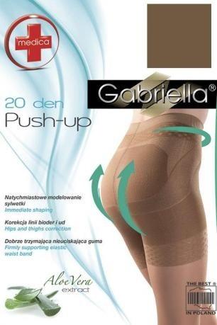 Stahovací punčochy Gabriella Push-up 127