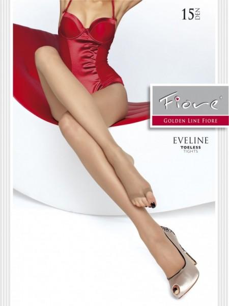 Punčochy s otevřenou spičkou Fiore Eveline