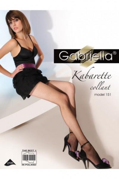 Punčochy Gabriella kabarette collant 151
