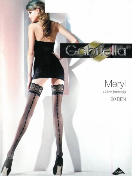 Samodrzící punčochy Gabriella Meryl 224