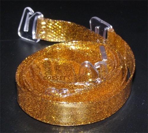 Ramínka silikonove zlate