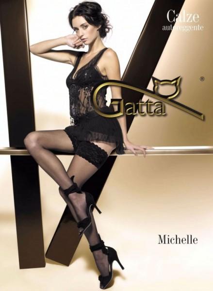 Samodrzící punčochy Michelle 01