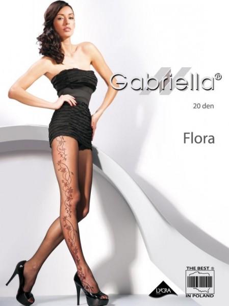 Punčochy Gabriella Flora 465