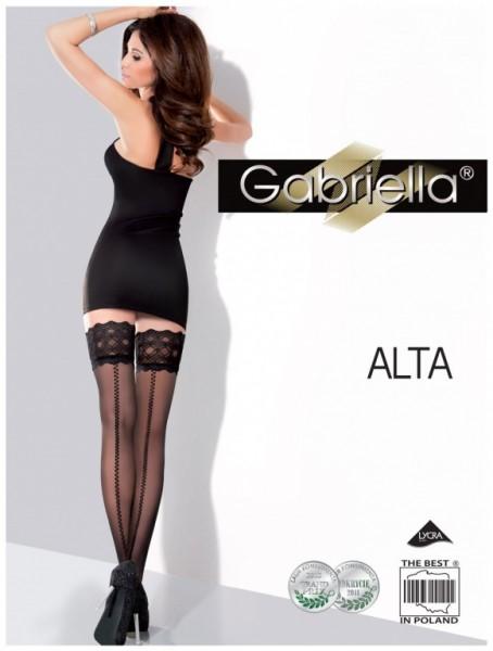 Samodrzící punčochy Gabriella Alta 218