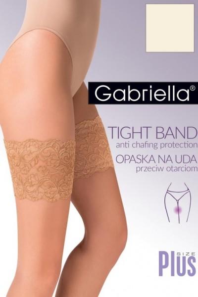 Bandaletky - Krajkova paska na stehna Gabriella 509