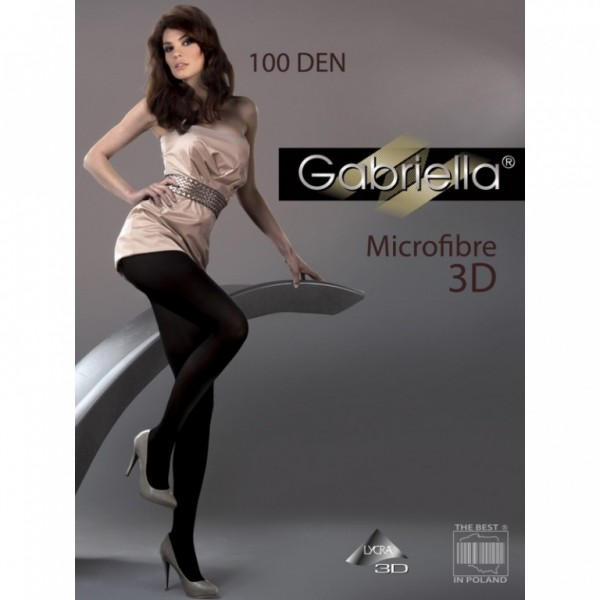 Punčochy Gabriella Microfibre 3D 119