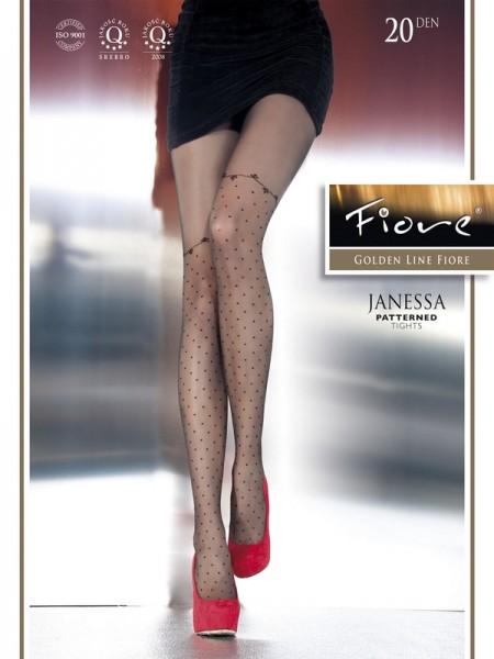 Vzorované punčocháče Fiore Janessa G 5314
