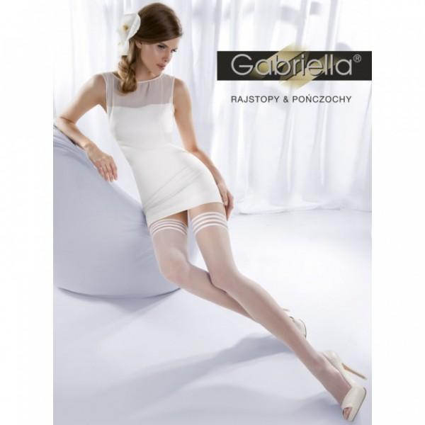 Samodrzící punčochy Gabriella 186 Calze 02